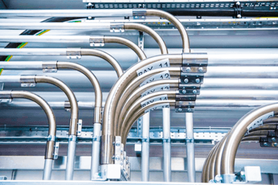 Cooling Pipework Installation