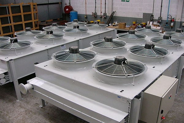 Flat Bed Air Blast Coolers